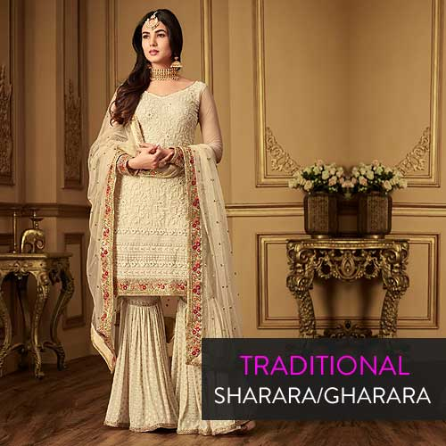 Traditional Sharara Gharara