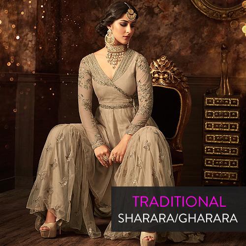 Traditional Sharara Gharara