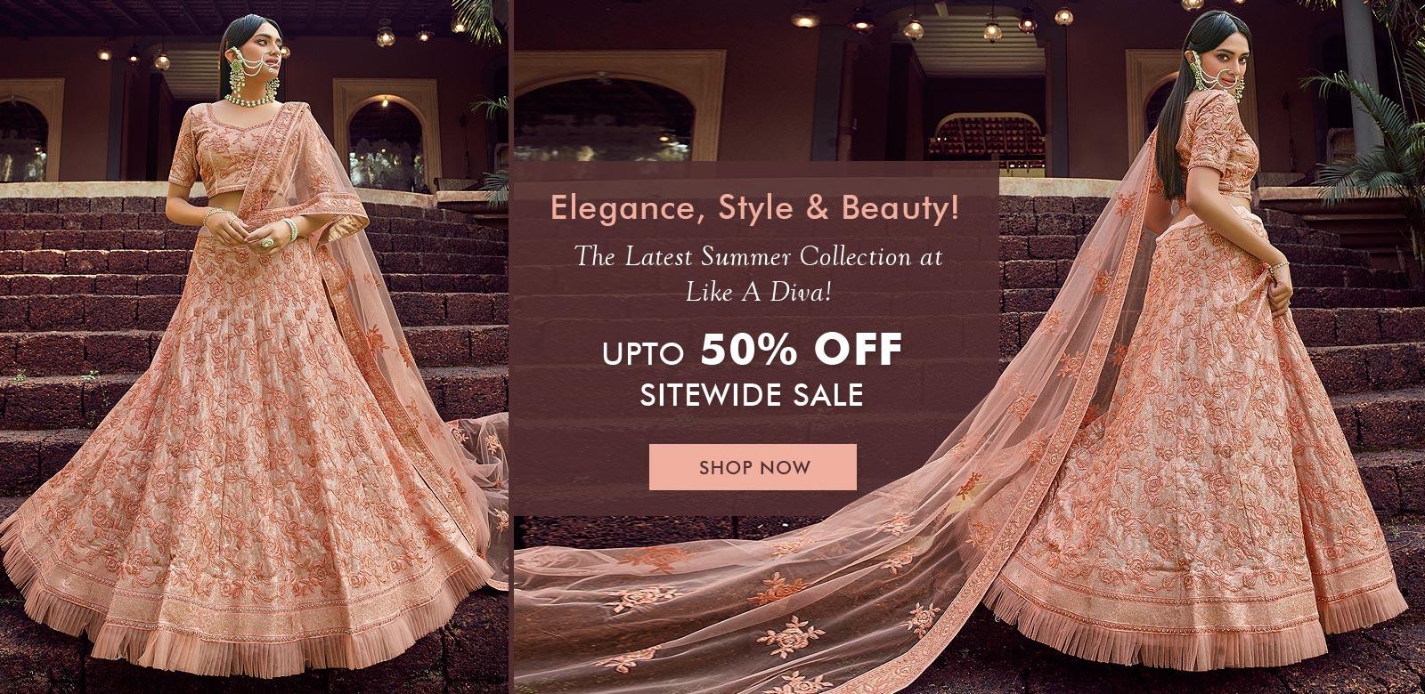 Stunning Indian Dresses Online