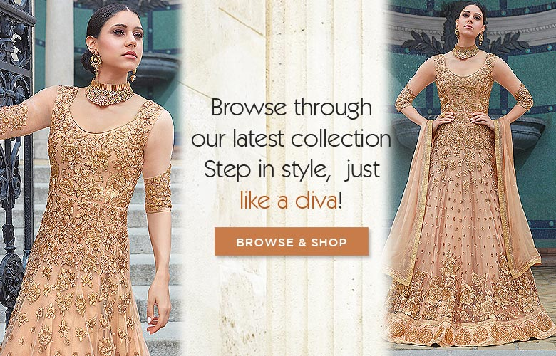 stunning partywear & wedding collection