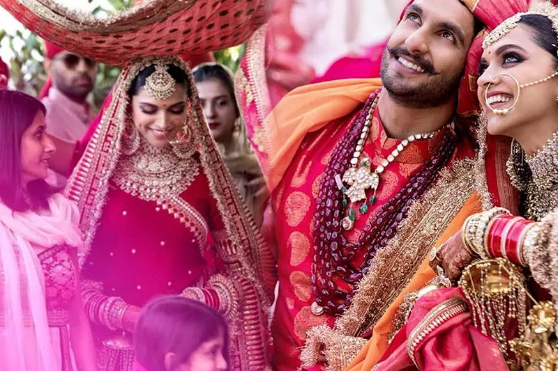 Swoon-Worthy Wedding Outfit Ideas From Deepika's Bridal Looks