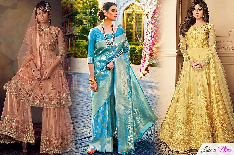 Six Amazing Indian Dresses For Bridesmaids That Will Fit Your Budget