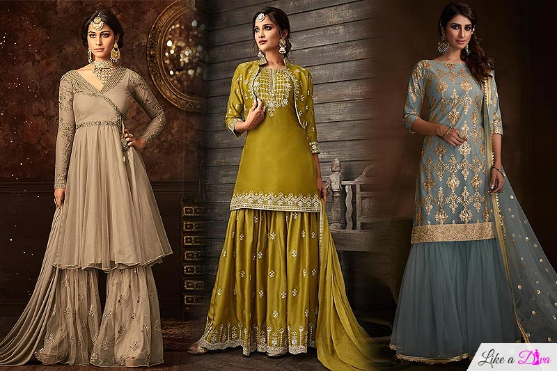 Sharara Suits and our top 7 picks