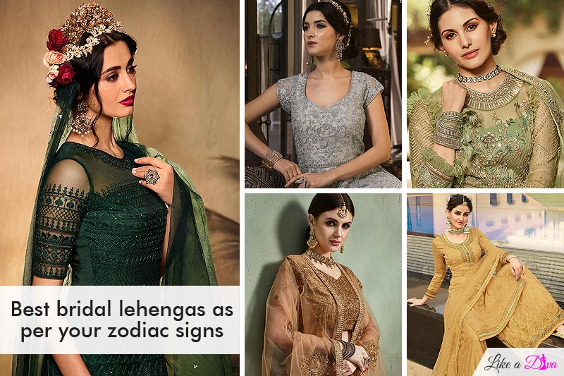 The Stunning Bridal Colours As Per Your Zodiac Signs