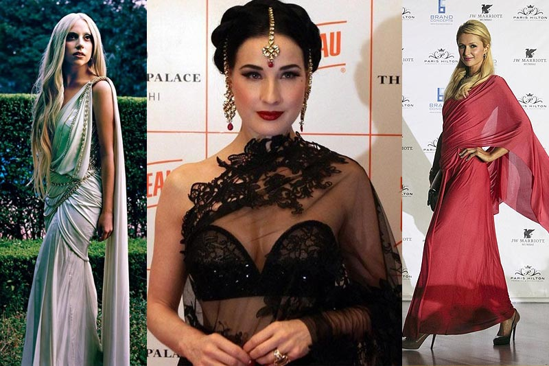 10 Foreign Celebrities Rocking the Ramp in Pure Desi Attires
