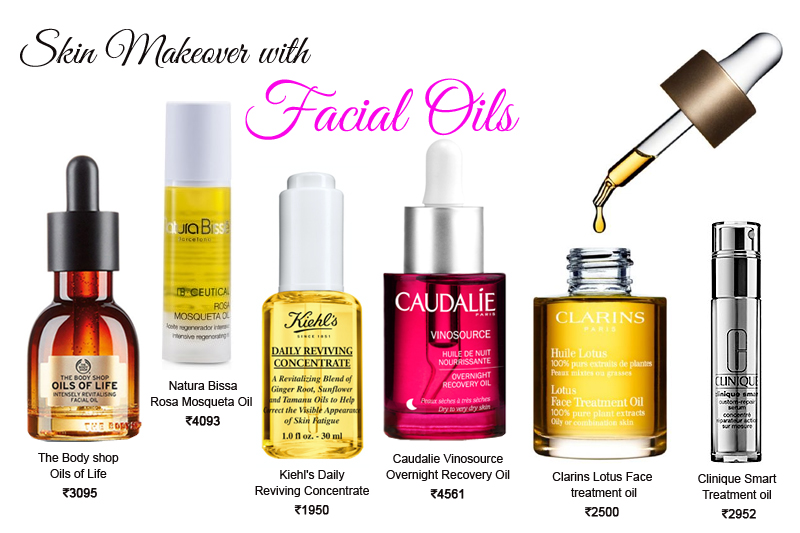 Get a skin makeover with Facial oils