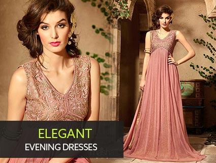 Elegant Indian Evening Dresses