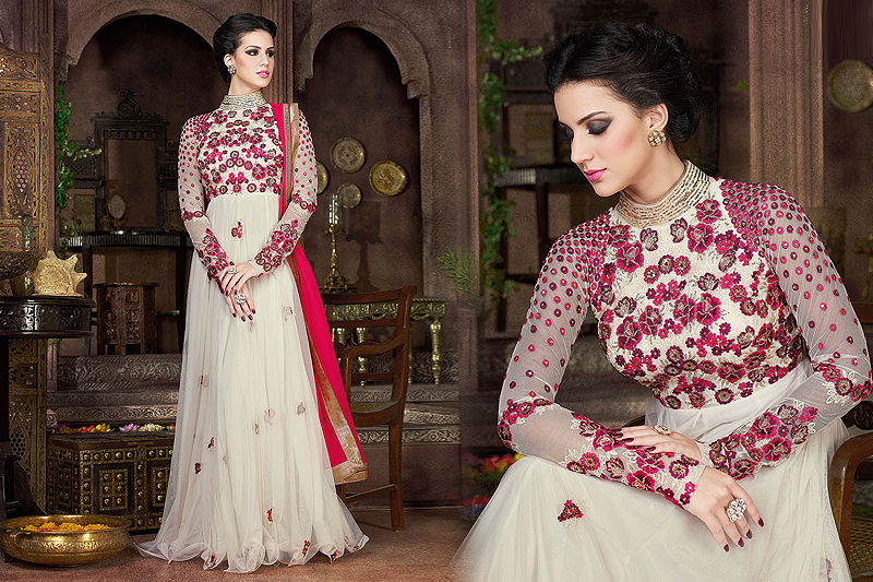 Anarkali Style dress - Like a diva