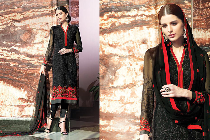 black outfit for an Eid - like a diva