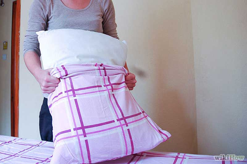 Change your pillowcase regularly