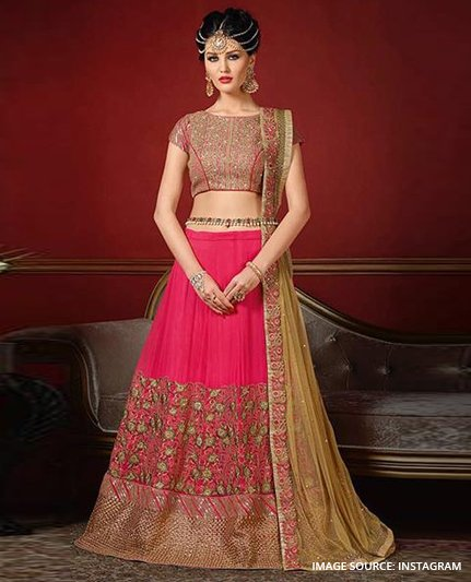 Wear Designer lehenga on point - Like A Diva
