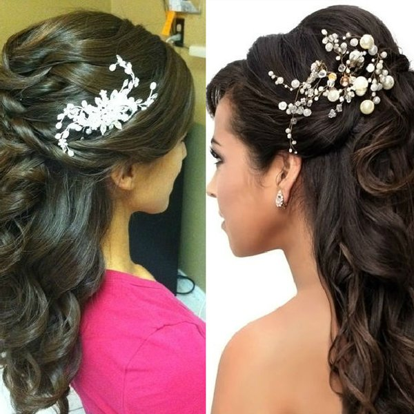 Bridal Hairstyle look