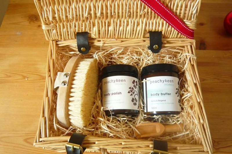 A body care hamper