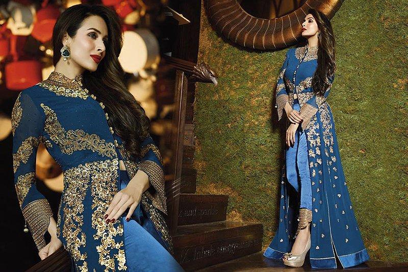 Heavy Embroidery Anarkali Suits - likeadiva