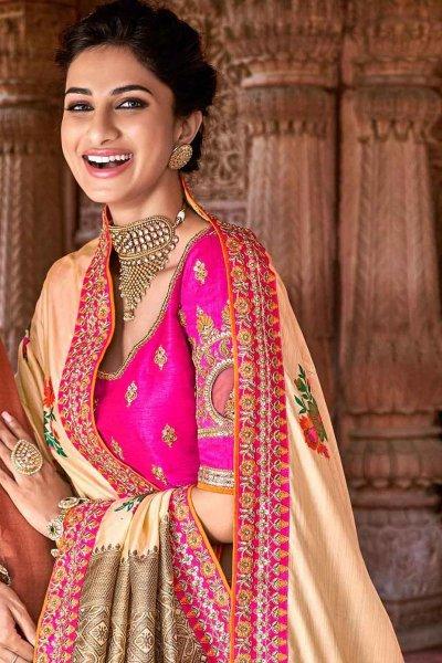 Banarasi Silk Party Wear Lehenga Choli Set