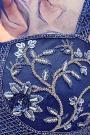 Navy Embellished Lehenga Choli Set