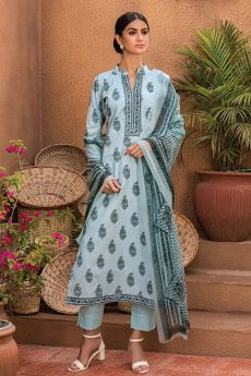 Smart Grey Cotton Salwar Kameez