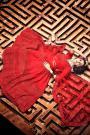 Beautiful Red Party Wear Lehenga