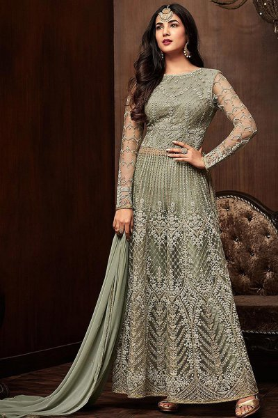Stunning Sage Green Suit