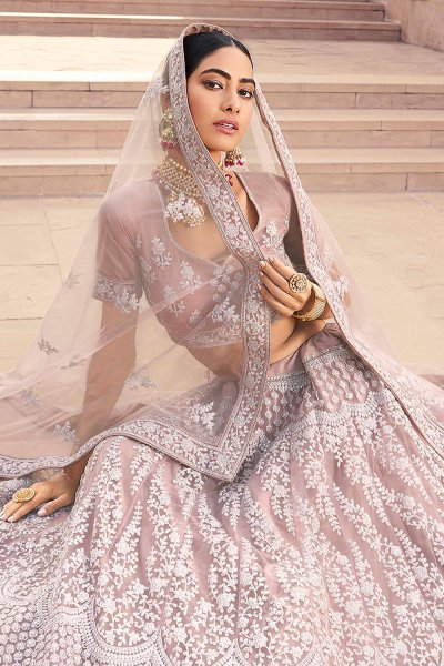 Party Wear Lehenga Choli with Embroidery and Sequins work