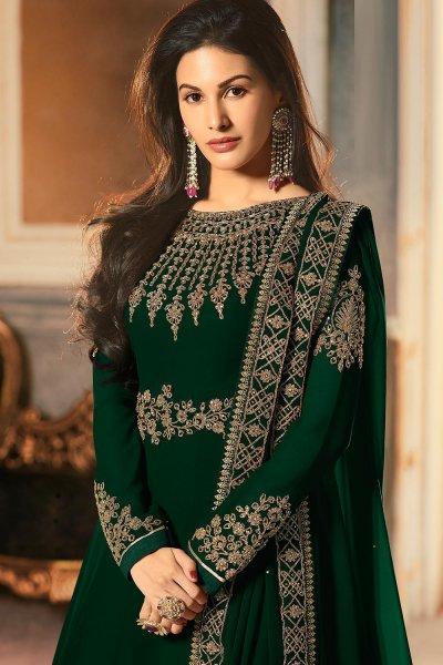 Stunning Party Wear Georgette Anarkali Suit