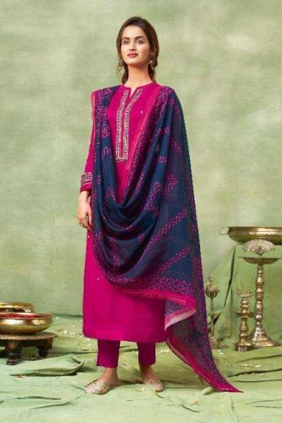 Ready To Wear Cotton Embroidered & Hand Worked Kurta Set