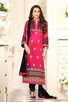 Zankar By Karishma  Cotton Salwar Kameez  Red