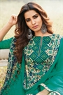 Smart & Chic Green Multi Coloured Printed Cotton Lawn Suit