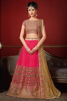 Royal Pink Designer lehenga