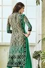 Light Brown Printed Pure Georgette Straight Cut Salwar Suit