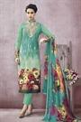Stunning Printed Cotton Straight Cut Salwar Suit