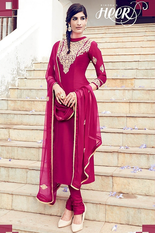 Embroidered Palazzo Suit Rani