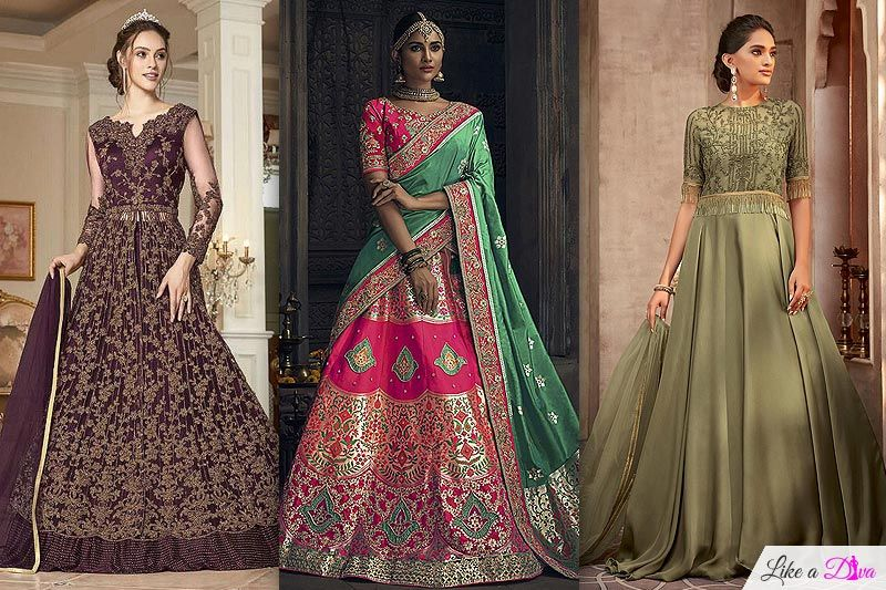 Best Wedding Day Ethnic Outfit Ideas For Bride's Mother