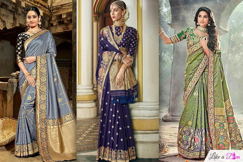 Banarasi Silk Sarees Are The Cool New & Classic Bridal Trend