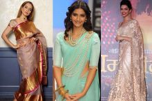 5 Bollywood Divas Who Inspire Us To Fall In Love With Saree