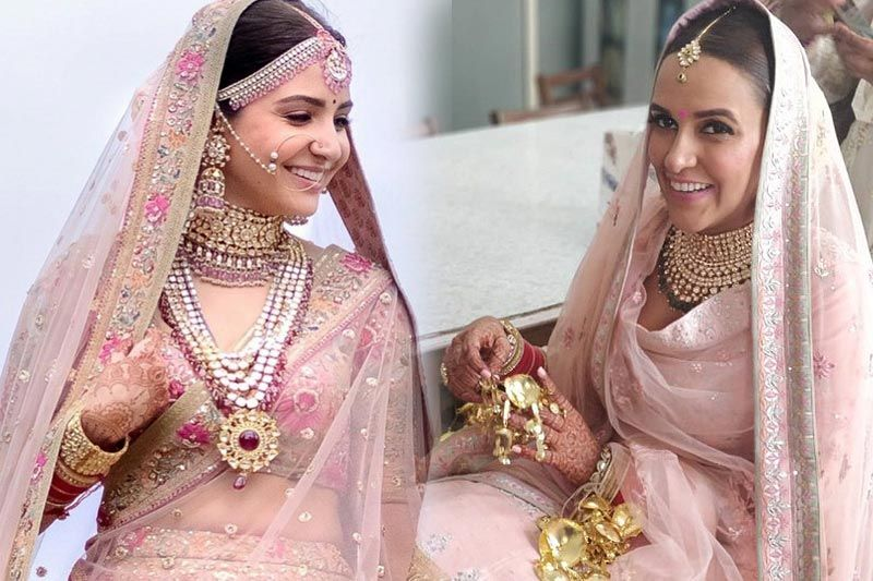Bollywood Brides Who Chose Not To Wear Red Lehengas At Their Wedding