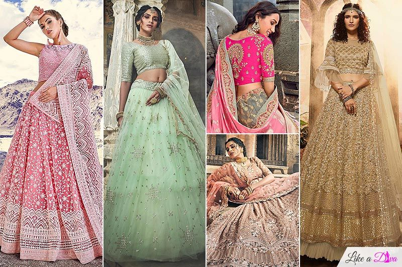 5 Stunning Lehengas That We Adore & You Can Buy Online For Your Intimate Wedding!