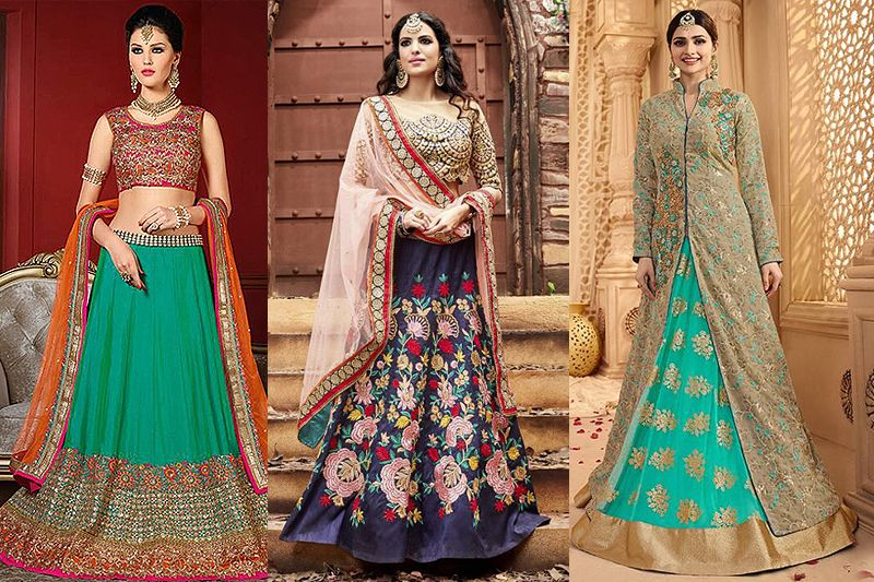 8 Indian bridal lehengas every girl love to wear