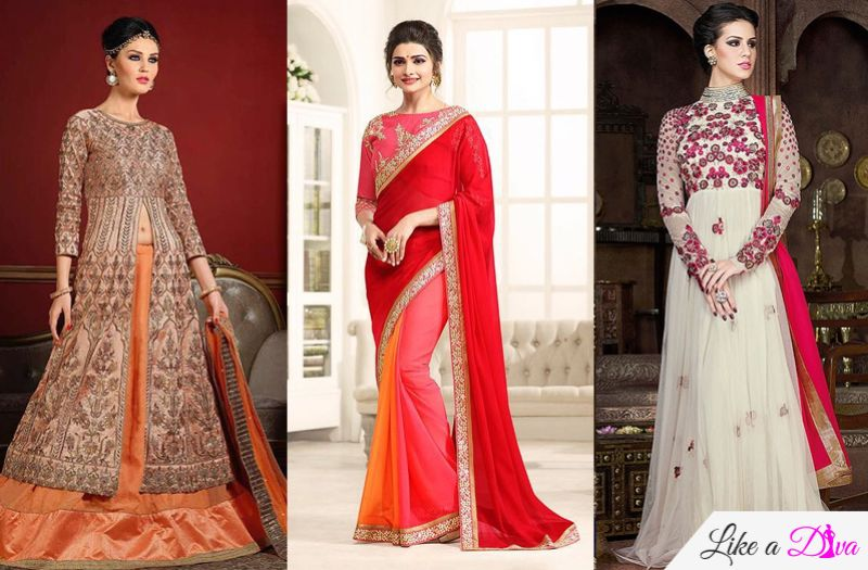 9 Colours Of Ethnic Ensembles For 9 Navratri days